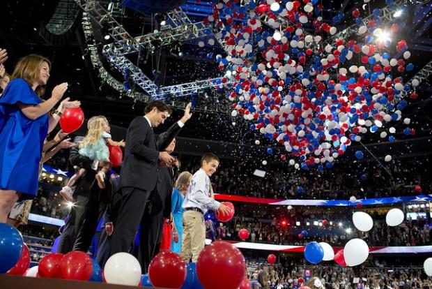 GOP presidential nominee Mitt Romney