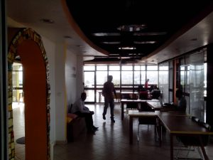 Tech innovation hubs like kLab in Rwanda have been established across Africa