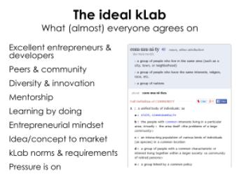 ideal kLab