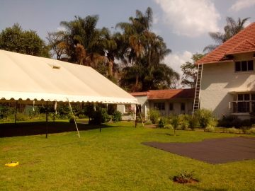 Tent for large events at Hypercube