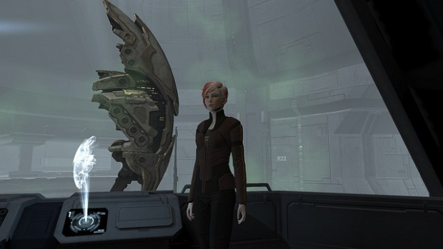 She could end up earning 11 percent less than her male colleagues .. Image from EVE Online by zcar.300.