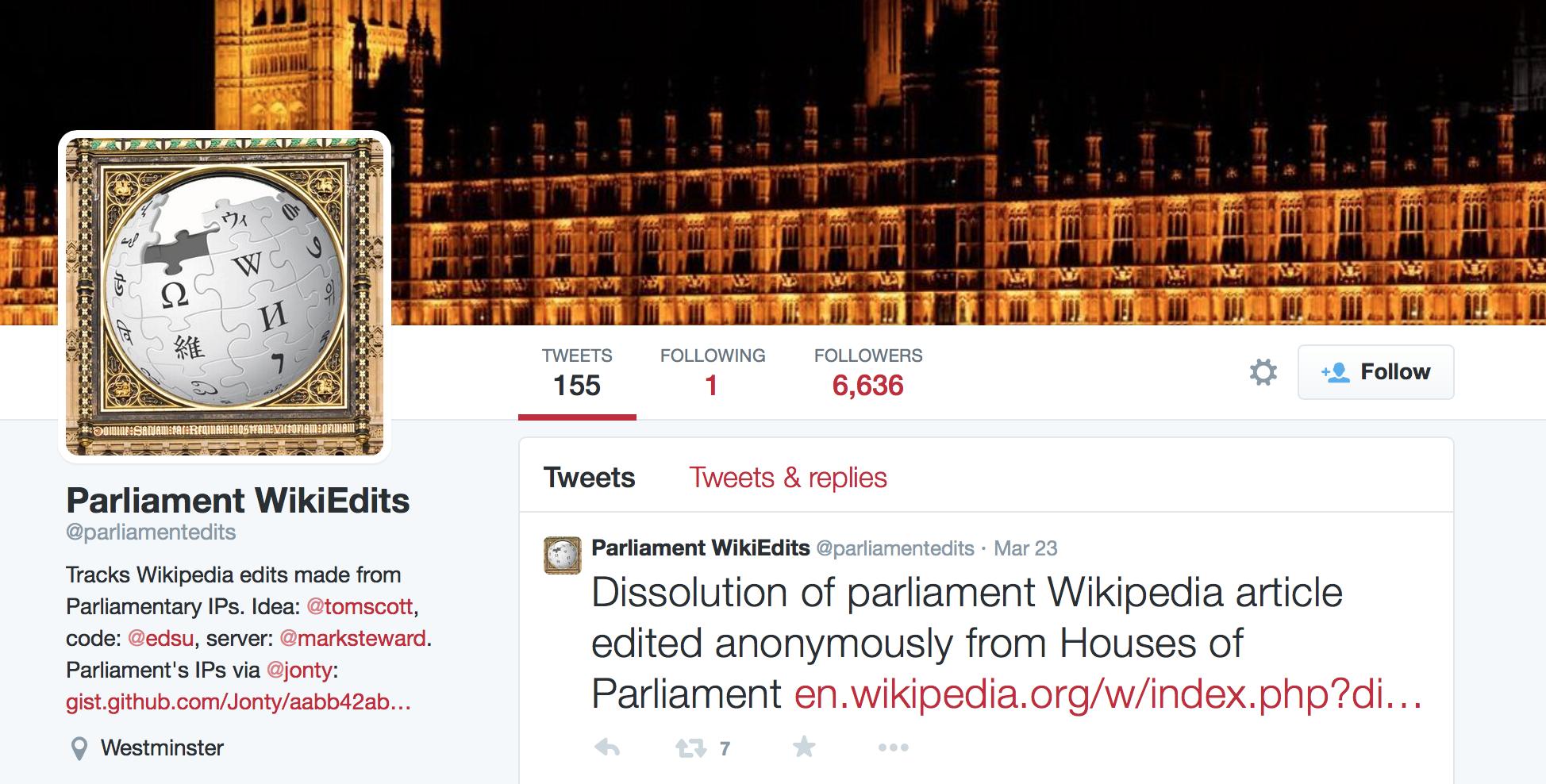 A Brief History of Political Wikipedia — Oxford Internet