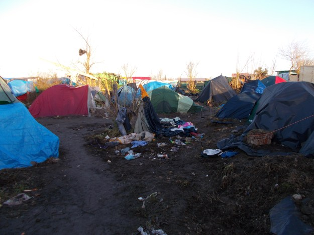 The Jungle in Calais