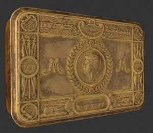 Screenshot of the Princess Mary Tin in Cabinet