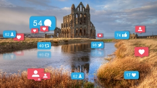 Hashtag Heritage: understanding visitor engagement with free sites using social media